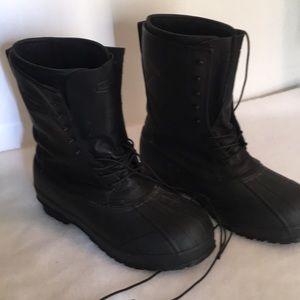 Lacrosse Iceman Black Boot